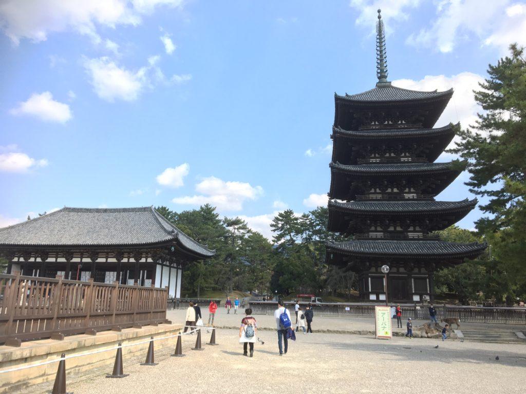Le temple Kofukuji